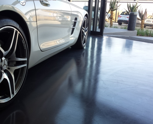 Mercedes Zwartkops Decorative Cement Floor