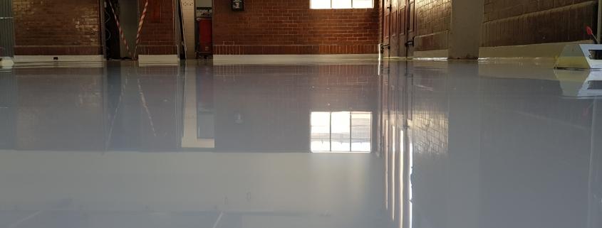 Fire Station Epoxy floor