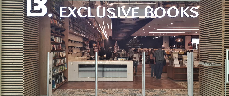 Exclusive Books Hyde Park Floors