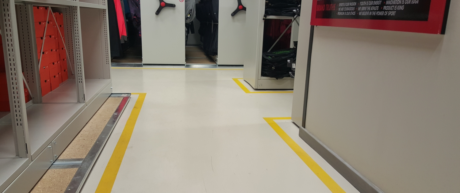 Cementitious Self-levelling screed overlay