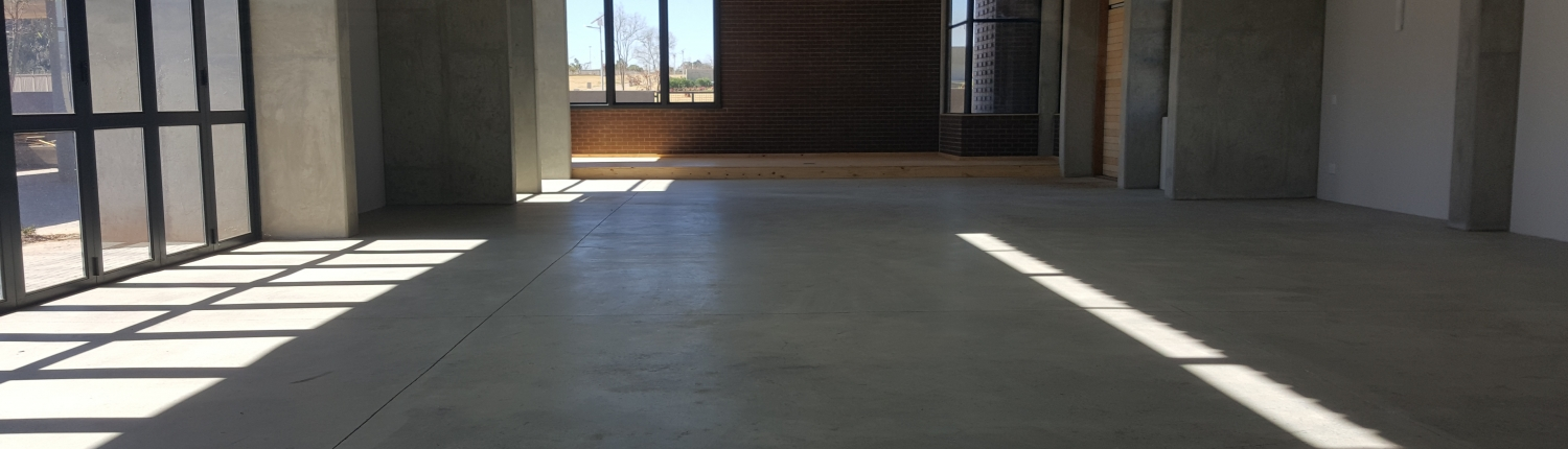 Nasrec Memorial Chapel Polished Concrete CT Floors