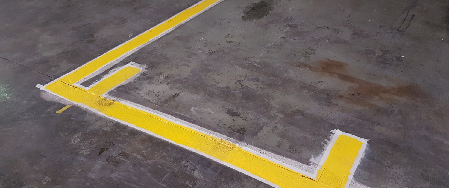 Protec Chemicals Demarcation Lines Carboline CT Floors